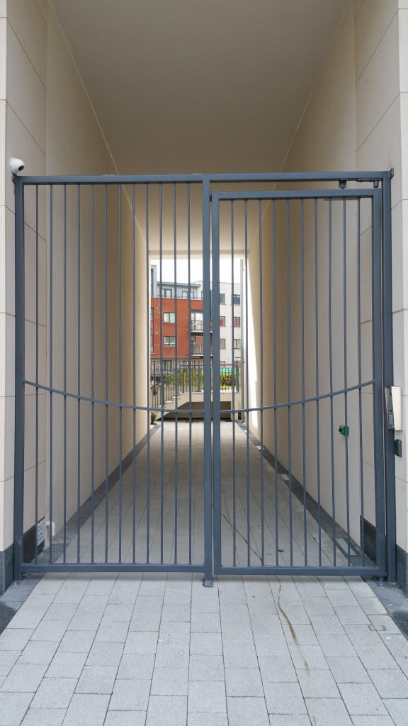 Wycham Place secure pedestrian gate
